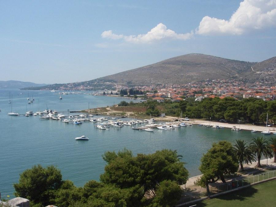 Jachty v Trogiru