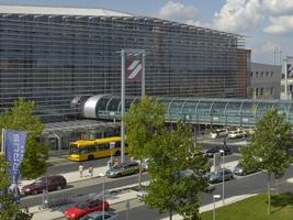 Parkování na letišti v Drážďanech