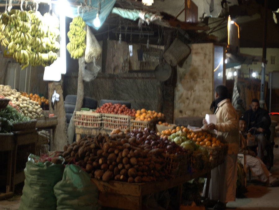 Zelenina a ovoce v Siwě.
