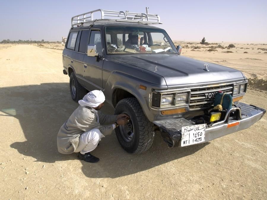 Na cestě do pouště