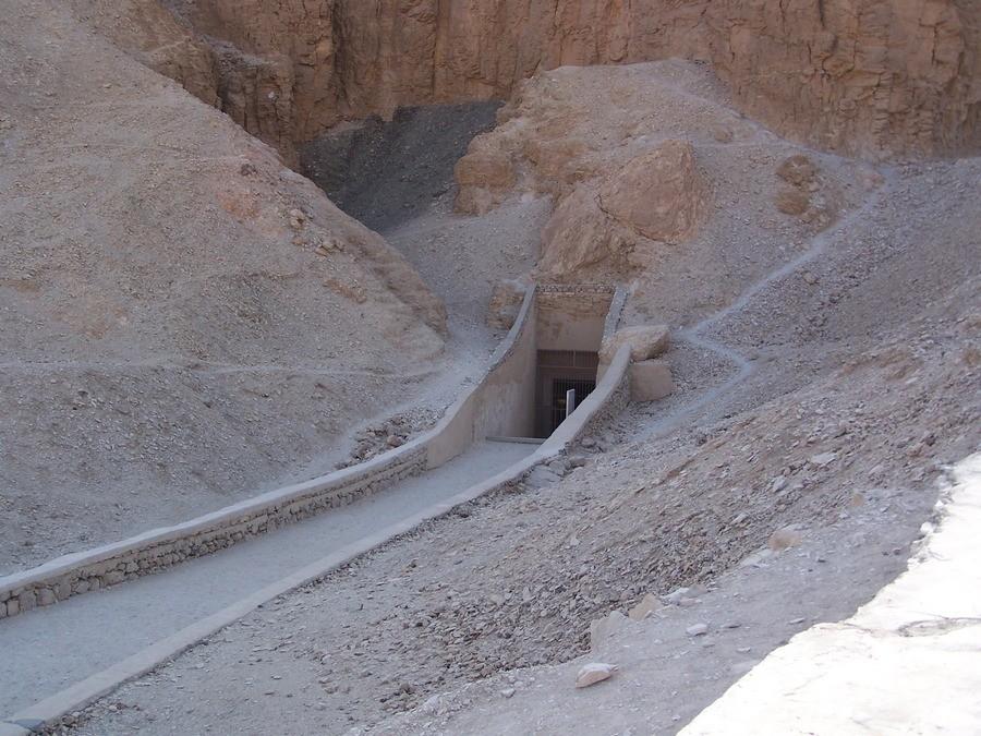 Hrobka v Údolí králů.
