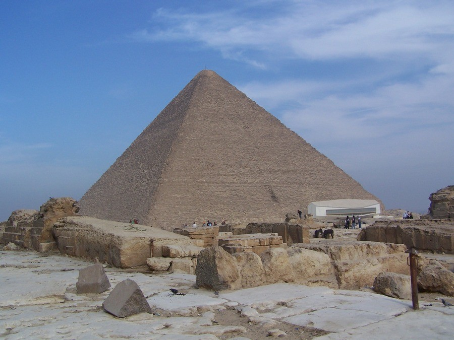 Chufuova pyramida.