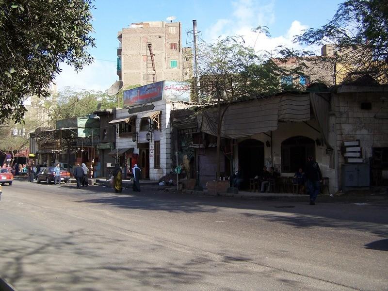V islámské části Káhiry.