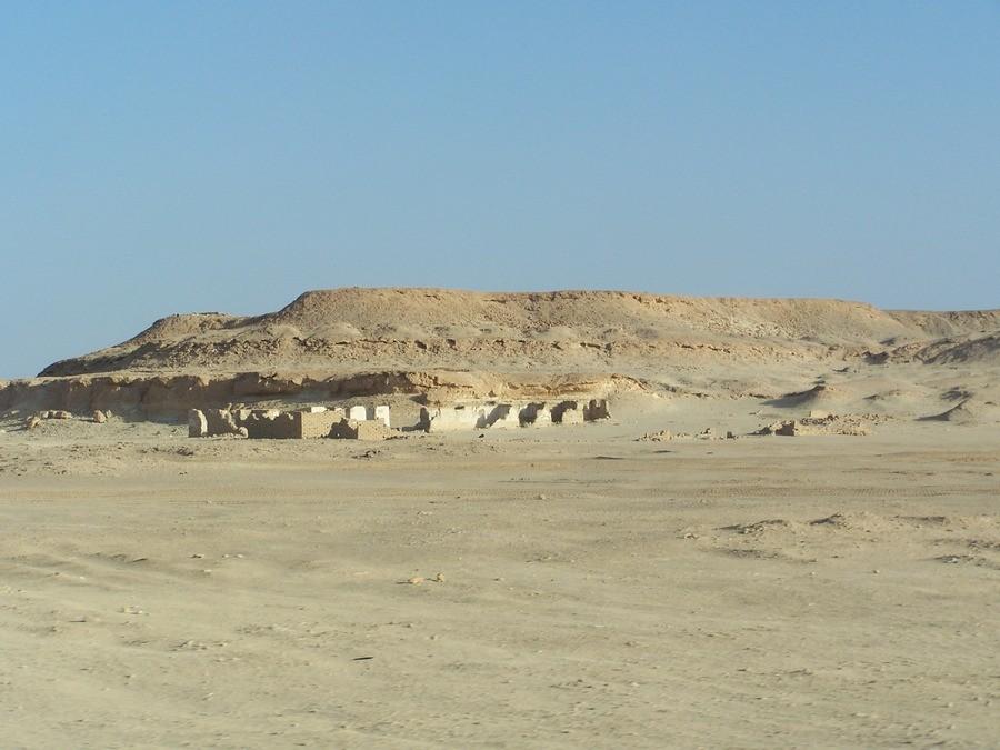 Na cestě z Marsa Matrouh do oázy Siwa