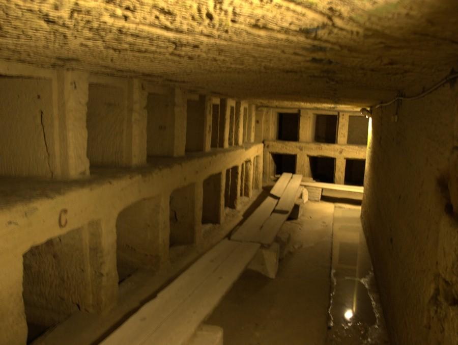 Katakomby Kum aš-Šukáfa v Alexandrii