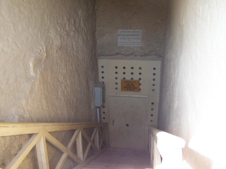 Vstup do hrobky Nefertari
