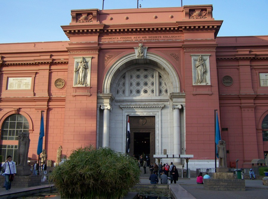 Egyptské muzeum v Káhiře.